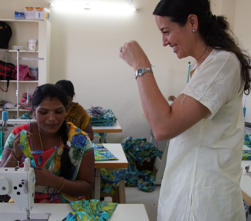 Shannon Keith Sudara founder and CEO sewing center