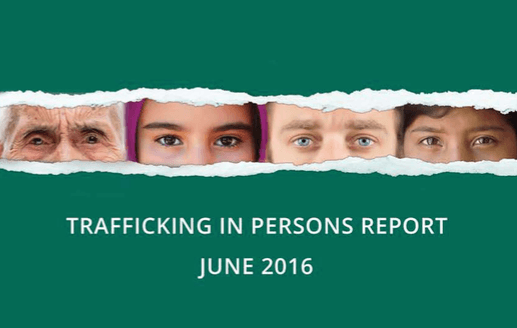 Trafficking in Persons Report Cover