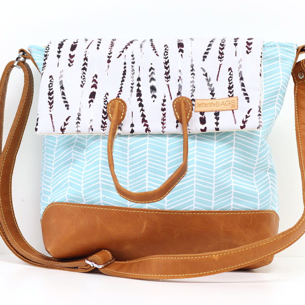 Better Life Bags - Molly Messenger Bag
