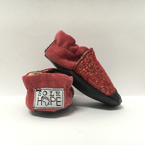 Ethically-made Shoe Sole Hope 6-12 mo. baby shoes