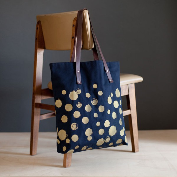 Mulxiply - Canvas + Leather Tote