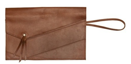 Raven + Lily - Ethiopian leather clutch