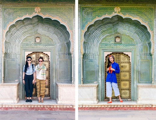 Oh Dear Drea and PUNJAMMIES at City Palace in Jaipur