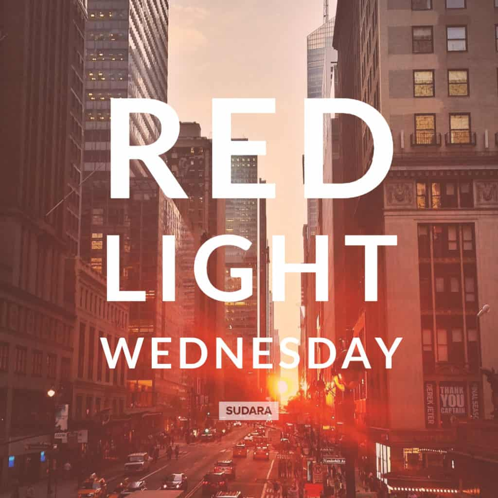 Red Light Wednesday for National Slavery and Human Trafficking Prevention Month